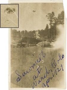 April, 1929  -  Ward, Colorado, USA