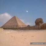 July, 2005  -  Pyramids at Giza, Egypt